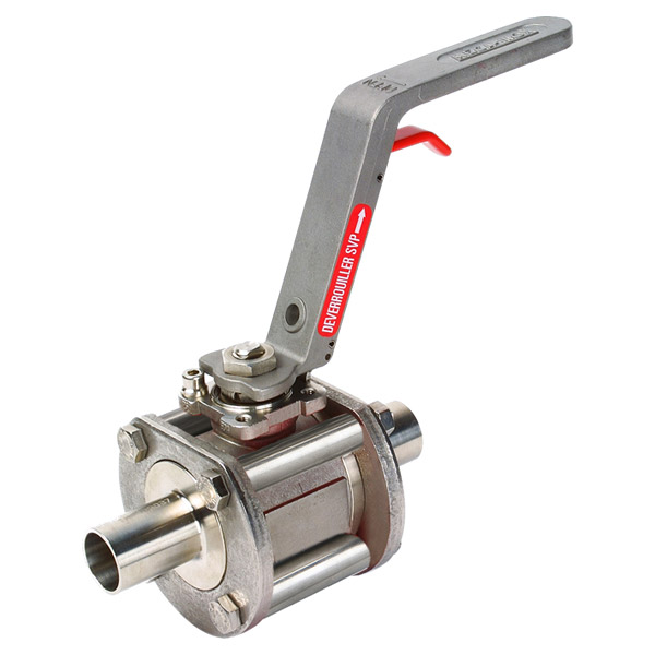 Meca-Inox Ball Valve PN4 clean