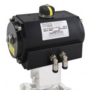 Pneumatic actuator type c
