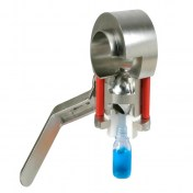 Meca-Inox Sampling Ball Valve PS4 PE